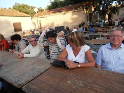 Des touristes du Cap d'Agde