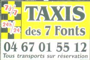 TAXIS des 7 Fonts