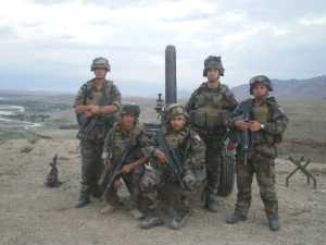 Caporal Armand SOUPRAYEN Afghanistan Juillet 2010