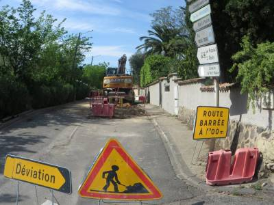 Highlight for Album: MAI 2015 - Travaux Chemin du Parc