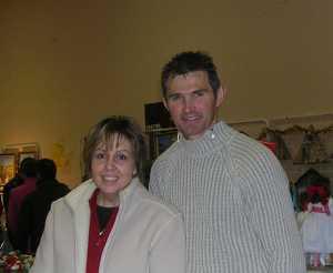 L'ancienne Charcuterie ---- Marc VERNET et sa femme