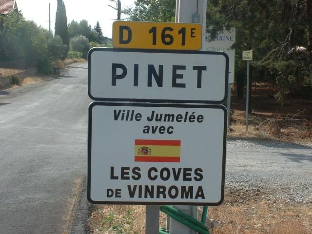 Panneau du village