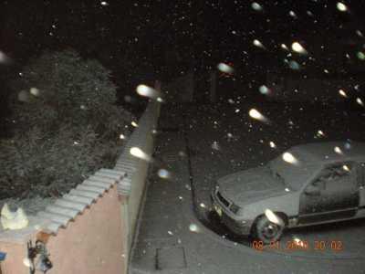8 janvier 2010 Neige sur PINET