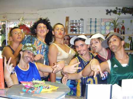 la Bande des Affreux Jojo chez Mauricette