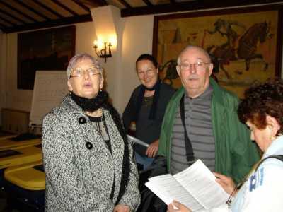 MARS 2009  Les SENIORS en CAMARGUE  Cliquez Ici