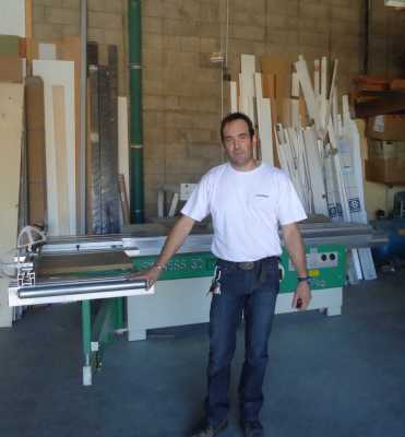 Thierry POUZOULET Patron de la Menuiserie 13 Avenue de Pezenas