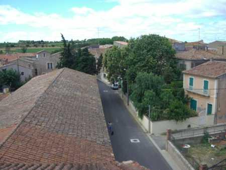 PINET vu des toits