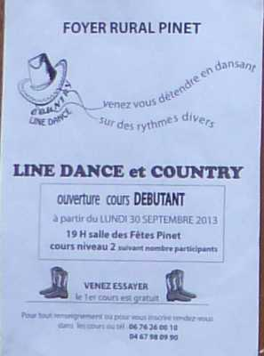 Line Dance COUNTRY Venez essayer !