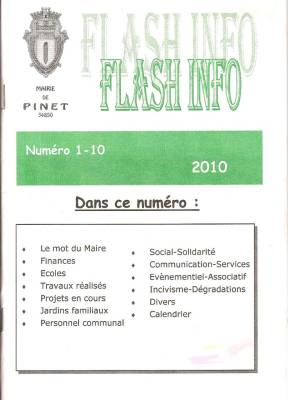 Highlight for Album: Extraits du Journalde la Mairie - Juin 2010