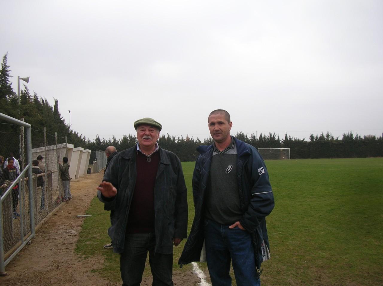 Claude DOMERGUE (Florensac) et Claude MAZOYER (PINET)