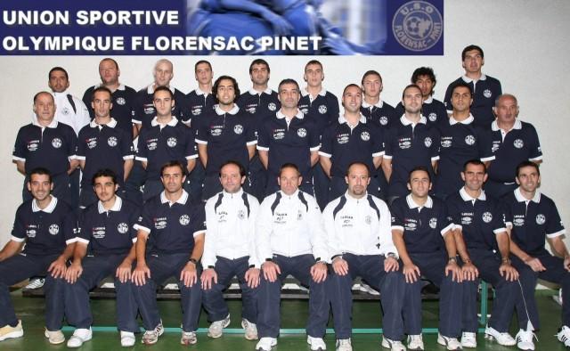 l'Equipe de Foot  PINET / FLORENSAC 2008-2009