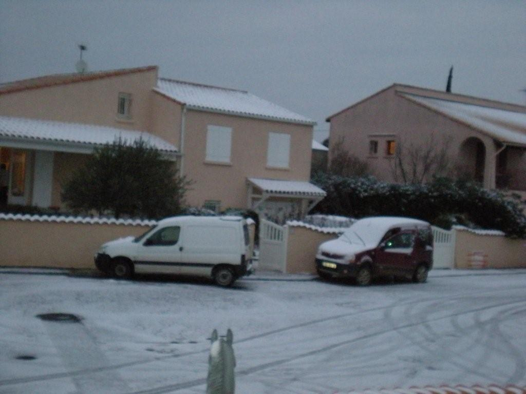 PINET sous la neige