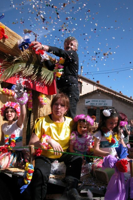 Annie et Claude au Carnaval