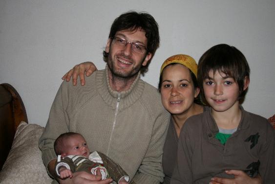 Manuel MOREAU Fanny ARNAU et leurs enfants