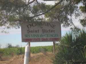 Domaine St VICTOR