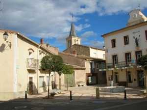 Place de La Mairie en 2005