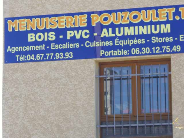 Menuiserie POUZOULET