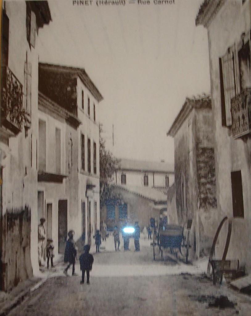 Rue Carnot en 1900
