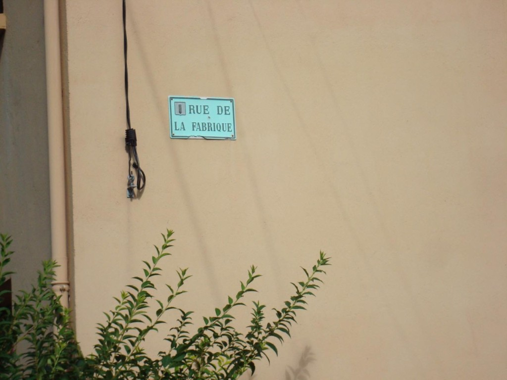 Rue de La Fabrique