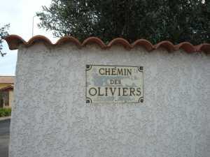 Rue des Oliviers