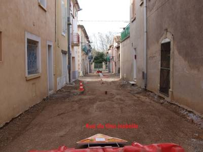 Highlight for Album: Rues de Pinet en travaux jANVIER 2013