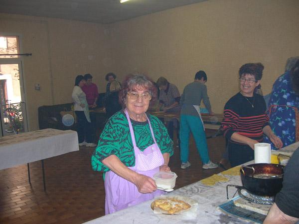 Paquita REDO et Jeanne VELEZ