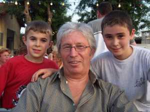 OBERDOFF et ses petits enfants