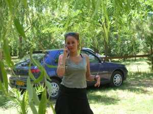 SARAH ... touriste du mois de Juillet