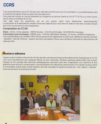 PINET : la CCAS