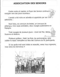 Association des Seniors