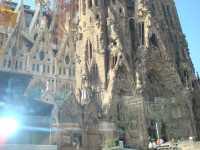 Eglise de BARCELONE SAGRADA FAMILIA
