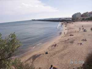 Cap d'Agde la Plage de la Grande Conque