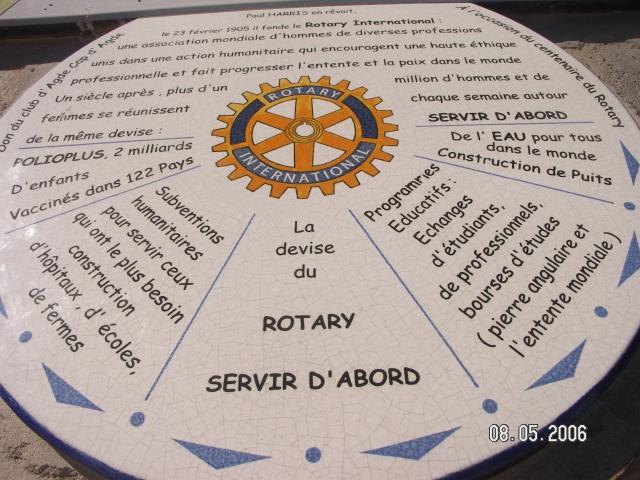 Cap d'Agde la Table d'orientation