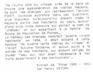 article sur pinet en 1914