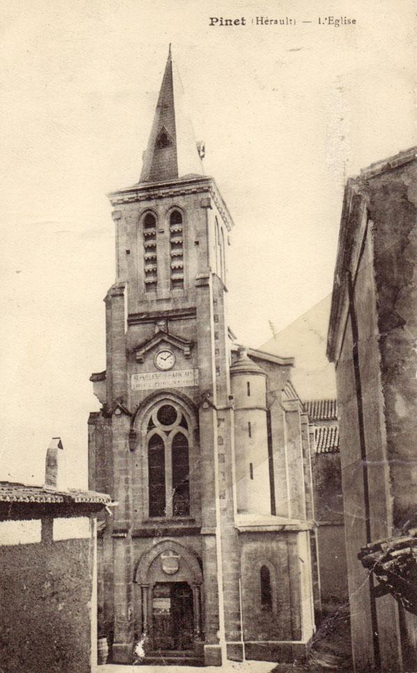 l'EGLISE  vers  1900