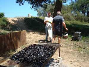Claude MIRAMONT Chef des Moules Jean Michel ESPARZA