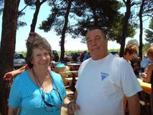 Mamie JACOTTE (RAMOS Jacqueline) et son Compagnon Max BISAGNI