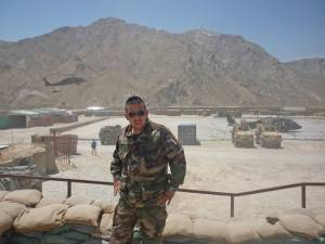 Photo-titre pour cet album: Caporal Armand SOUPRAYENActuellement en Afghanistan