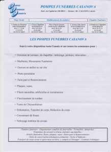 CASANOVA PFG