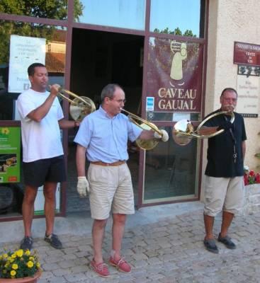 Photo-titre pour cet album: Les Corps de Chassedu Caveau GAUJAL