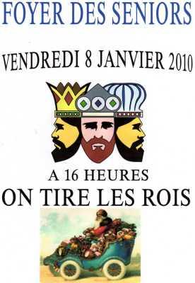 8 Janvier 2010 Les Galette des Rois chez les SENIORS  ----  Photos