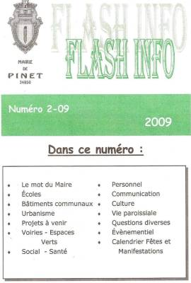 Photo-titre pour cet album: Journal de la MairieNovembre 2009