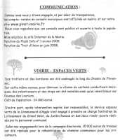 Communication - Voirie Espaces Verts