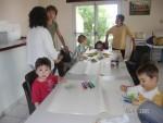 Rencontre Assistantes Maternelles ce matin dessin aux feutres