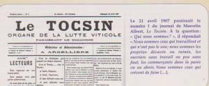 Photo-titre pour cet album: La Guerre du VIN - 1907