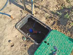 le compteur d'eau inviduel 1 euro environ le m3
