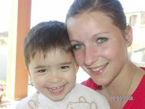 Coralie Luglia et Paul Diaz