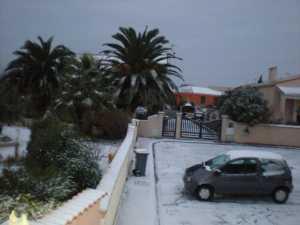 PINET sous la neige 8 Janvier 2009