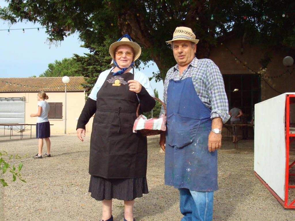 Mme et Mr LASCAR en costume d'Antan