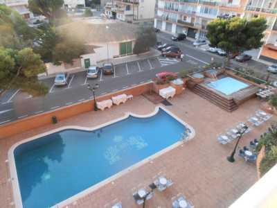 ROSAS - Hotel SAN MARC ---- La piscine vue de la chambre